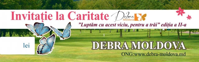 DEBRA Moldova charity event